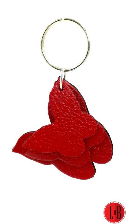 porte-clefs-3-papillons-rouges