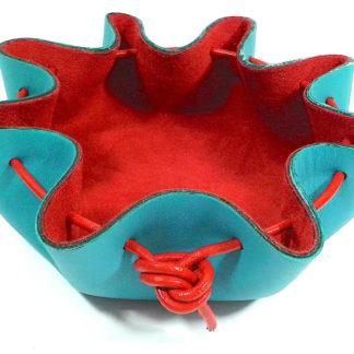 Vide-poches-bleu-rouge