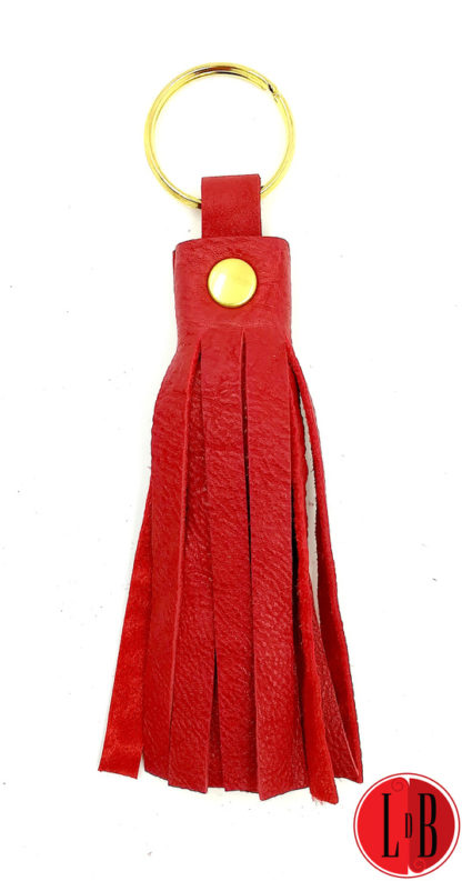 porte-clefs-pampille-rouge-et-or.