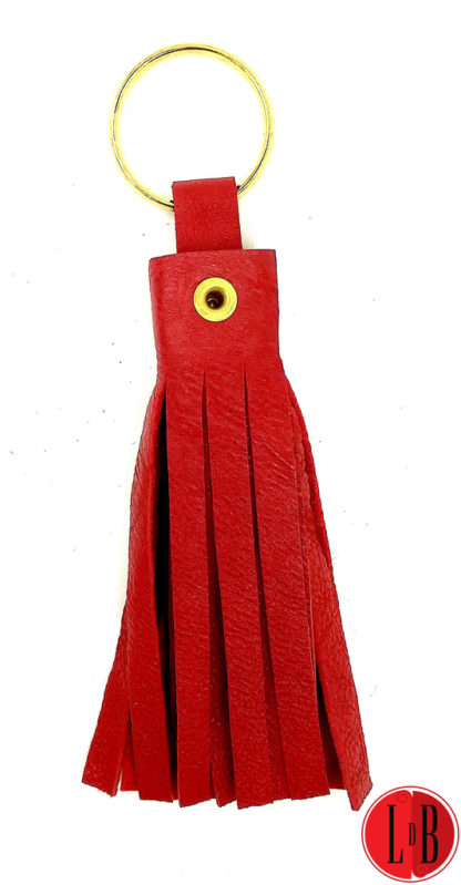 porte-clefs-pampille-rouge-et-or-verso