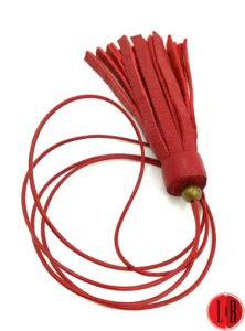 Sautoir Pompon rouge