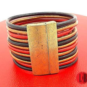 Bracelet-manchette-cuir-magma